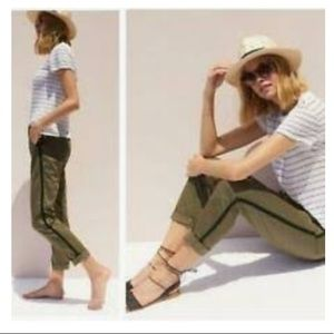 Relaxed Chinos from Anthropologie in lovely green!